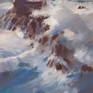 Бретань. Маяк Bretagne. Lighthous 45×90. 2009