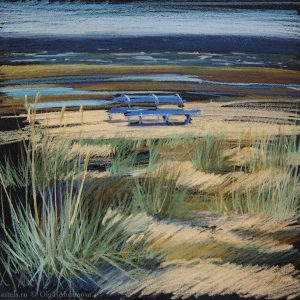 Along the shore 31×32. 2015