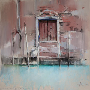 Venice 3. Caput Mortum 41×41. 2015