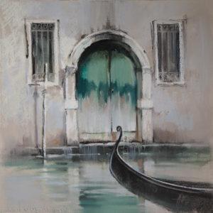 Венеция 4. Венецианский зеленый Venice 4. Venetian green 41×41. 2015