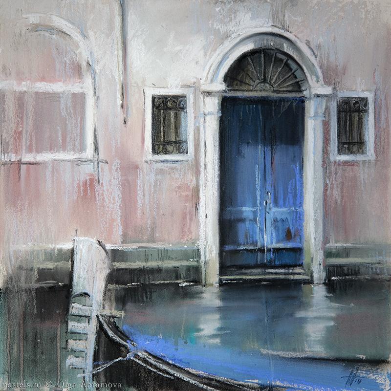 Venice 5. Blue 41x41. 2016