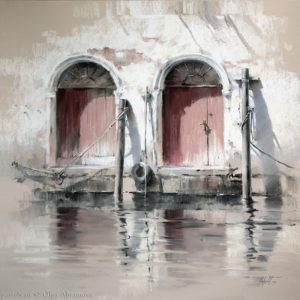 Венеция Venice  90×90. 2014