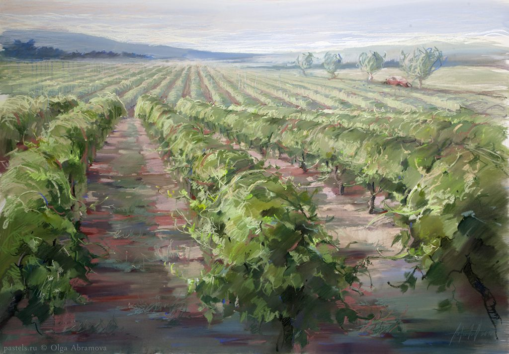 The Vineyards Of Provence 100x144. 2012