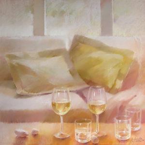 Вино Эльзаса Alsace wine 80×80. 2008