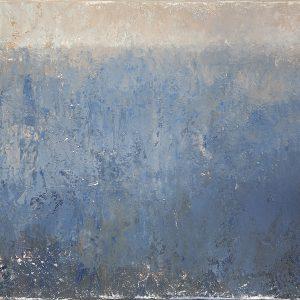 Воздушный синий 6 Airy blue 6. 50×100. 2015