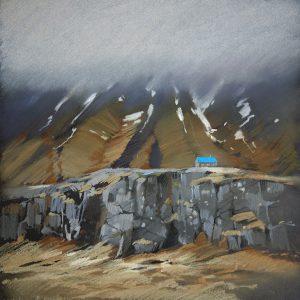 Исландия. Бирюзовый Iceland. Turquoise 32×31. 2014