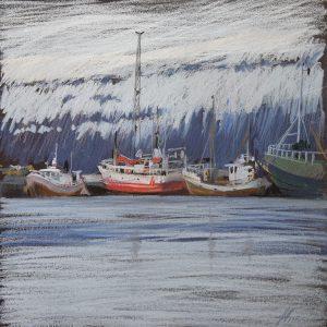 Iceland. Grey-blue 32×31. 2014