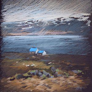 Iceland. Blue 32×31. 2014