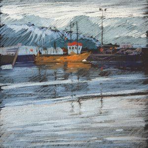 Iceland. Husavik 32×31. 2014
