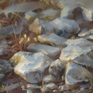 Stones 50×60. 2002