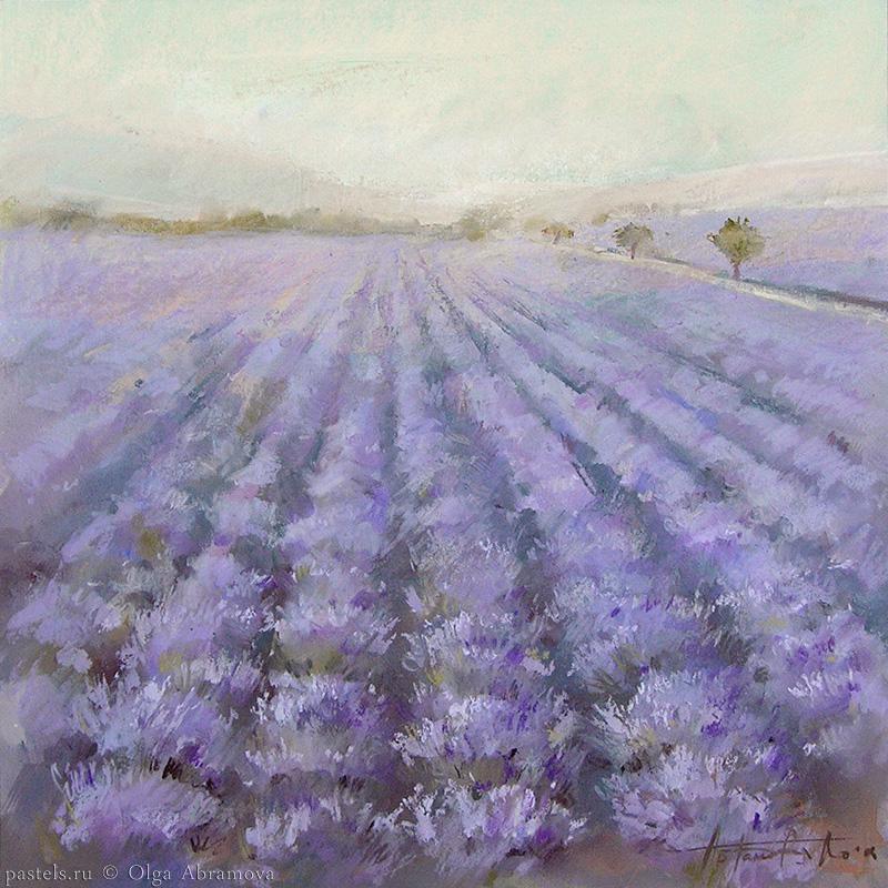 Lavender 1 53x53. 2008