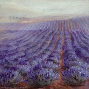 Лаванда 2 Lavender 2 53×53. 2010