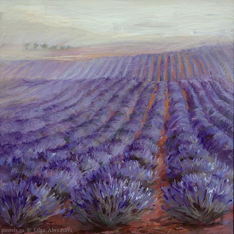 Lavender 2 53x53. 2010