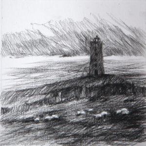 Lighthouse 13×13. 2014