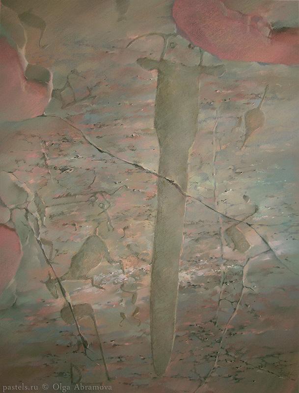 Петроглиф 2 Petroglyph 2 100×80. 2005