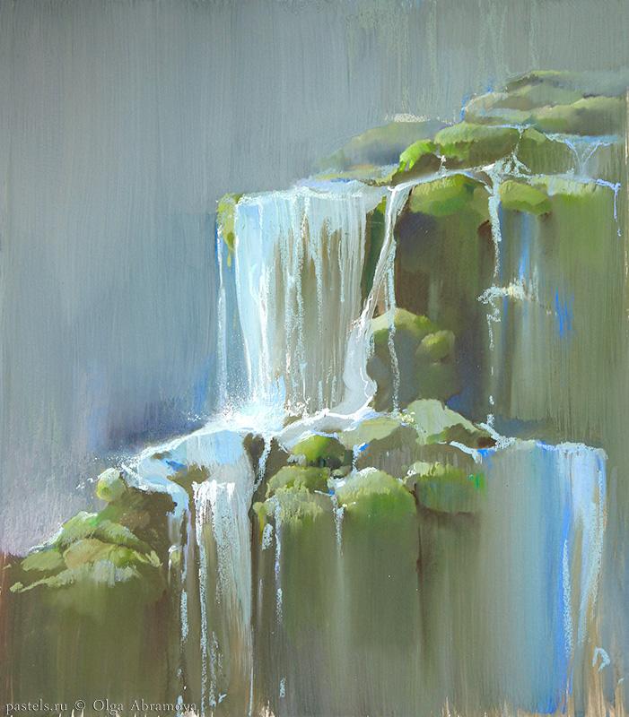 Потоки. Протва Flows. Protva 78×68. 2011