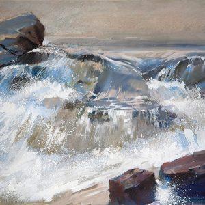 Река River 50×70. 2011