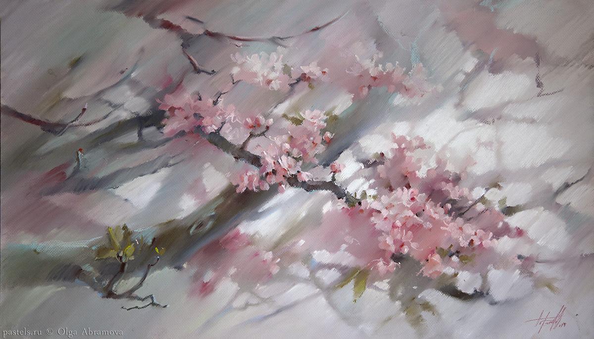 Сакура Sakura 57×88. 2014