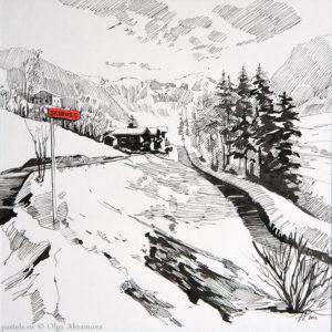 Snow story 1 27×27. 2012