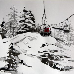 Snow story 4 27×27. 2012