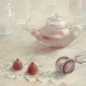 Сумасшедшее чаепитие Mad tea party 40×60. 2008