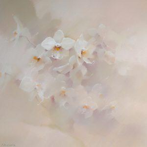 Фарфоровая орхидея Porcelain Orchid 80×100. 2006