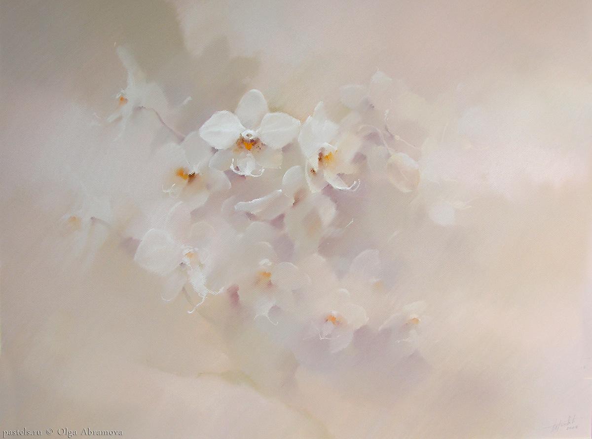 Porcelain Orchid 80×100. 2006