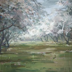 Apple orchard 100×144. 2012