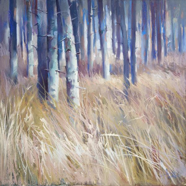 Forest. Ocher 48×48. 2017
