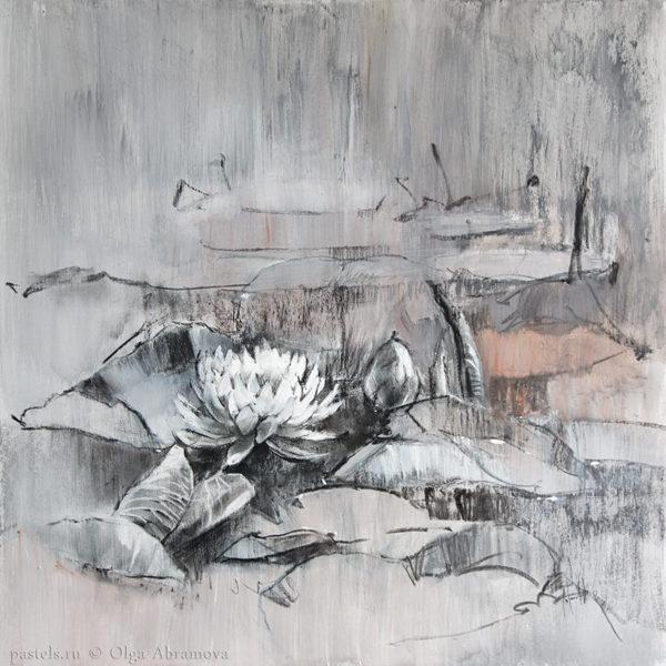 Water lilies 04. 70×70. 2017.jpg