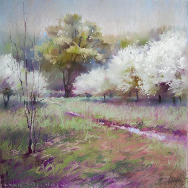 White gardens 48×48. 2017