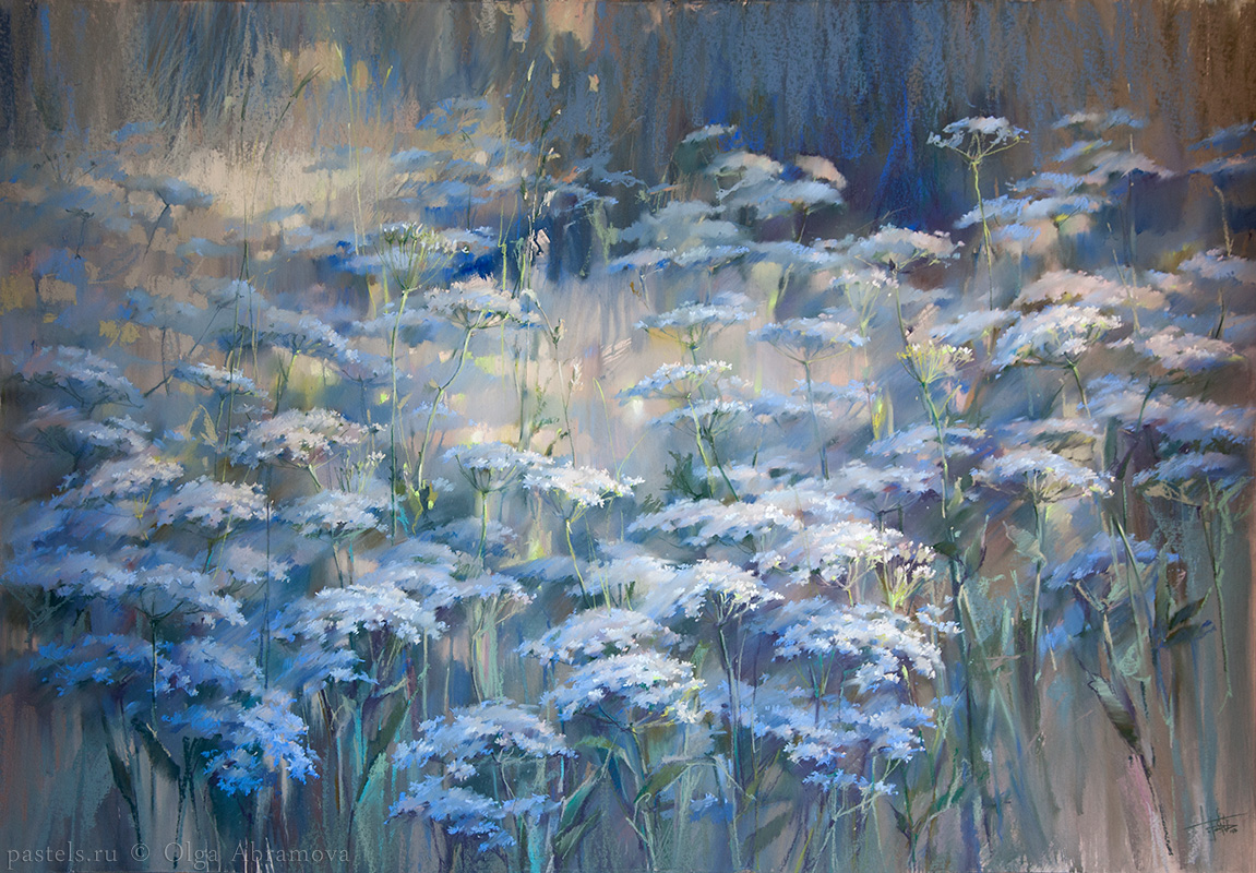 Queen Anne's Lace 100×145. 2017