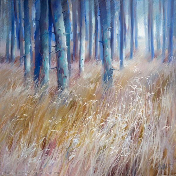 Смоляной лес 80×80. 2017
