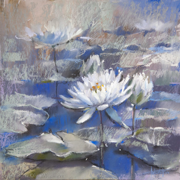 Water lilies 04 40×40. 2017