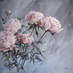 Хрустальный розовый 70×70. 2018