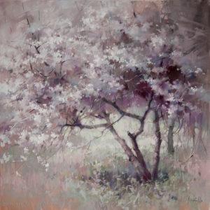Cherry tree 70×70. 2019